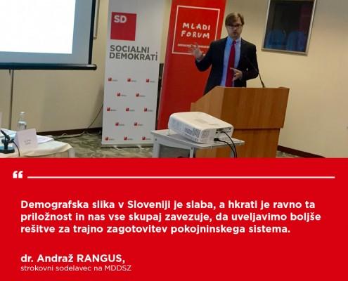 Andraž Rangus - Konferenca Demografski sklad