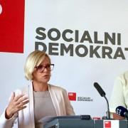 Anja Kopač Mrak in Franc Hočevar