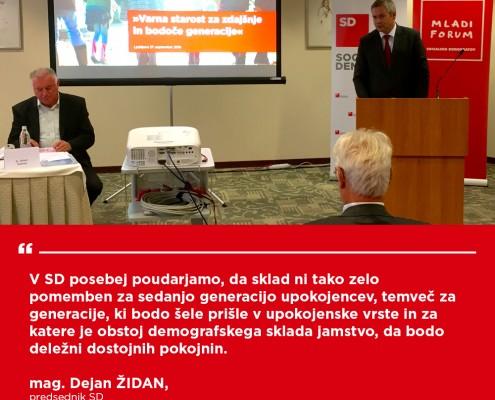 Dejan Židan - Konferenca Demografski sklad