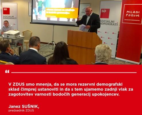 Janez Sušnik -Konferenca Demografski sklad