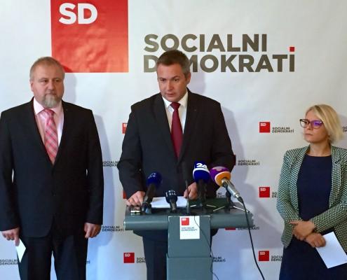 NK SD ob drugi obletnici vlade