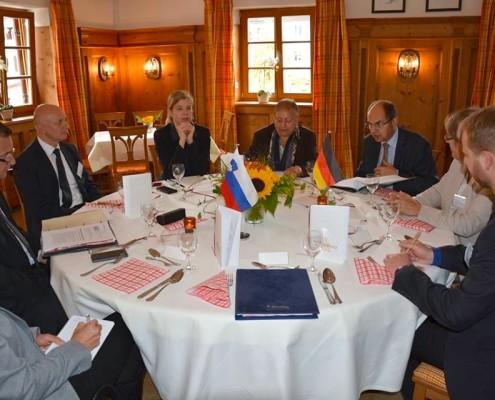 Bilateralno srečanje v Nemčiji