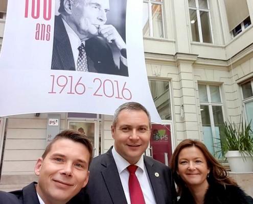 SD na obisku pri francoskih Socialistih