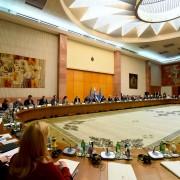 Skupna seja vlad Slovenije in Srbije v Beogradu