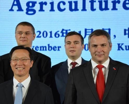 Židan in Han na ministrski konferenci