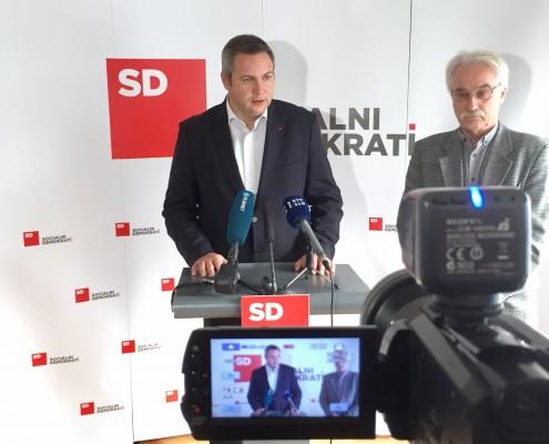Židan in Hočevar po seji predsedstva Foruma starejših SD