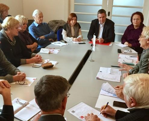 Forum starejših SD - predsedstvo