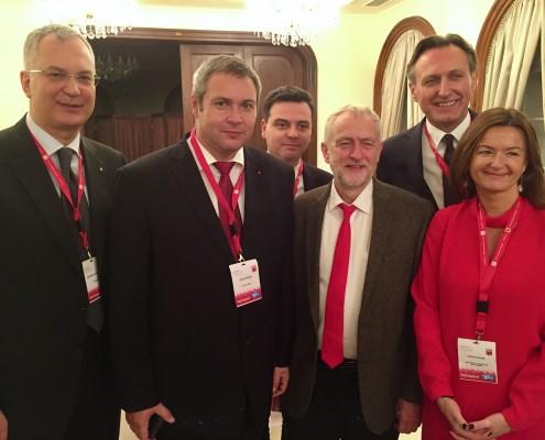 PES - Židan Fajon Corbyn Krivokapić