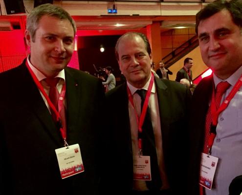 PES - Židan in Jean-Christophe Cambadélis