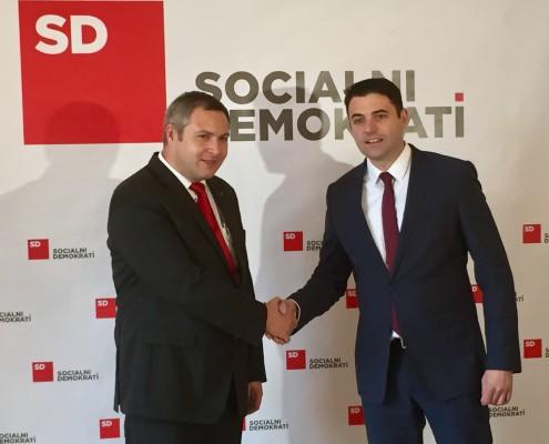 Dejan Židan in Davor Bernardić
