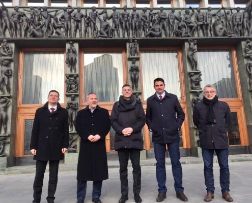 Delegacija SDP s PS SD