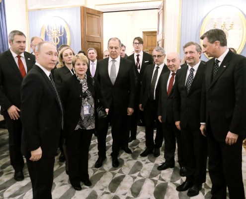 Srečanje s Putinom