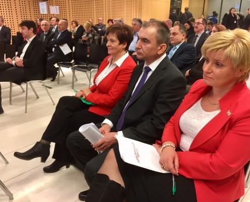 Vrh koalicije s poslanci SD